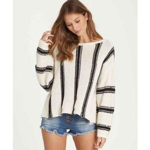Billabong Striped Knit Sweater
